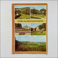 Kurort Hartha 5 Views Postcard (P374)