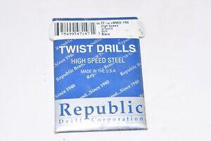 Pack of 12 Republic HSS Size #50 Drill Blanks, Jobber Drill Blanks