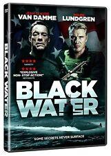 Black Water Jean Claude Van Damme Dolph Lundgren New (DVD  2018)