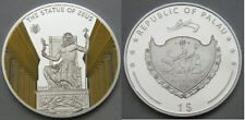 2009 Palau Large Proof color $1 World Wonders-Statue of Zeus