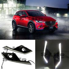 White Light  Daytime Running Light DRL Fog Driving Bulb 2016-2017 For Mazda CX-3