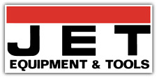 "JET Tools Tool Car Bumper Window Tool Box Sticker Decal 6""X3"""