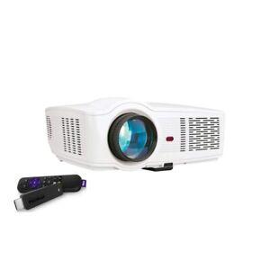 RCA 720p Roku Home Theatre Projector HDMI 720p 150 Lumens WiFi RPJ135