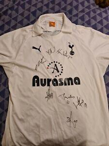 Tottenham hotspur shirt 2011 Signed