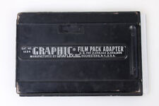 Graphic Film Pack Adapter 4x5 by Graflex cat np. 1234 #822