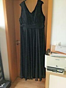 Abendkleid schwarz Gr. 52 von Weise top!