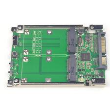 """2.5"""" SATA III to dual mini SATA USB3.0 to 2 mSATA SSD Raid controller card"""