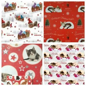 CHRISTMAS WRAPPING PAPER AND TAGS 5 SHEETS+ 5 TAGS(50CMX70CM) Best Quality Paper