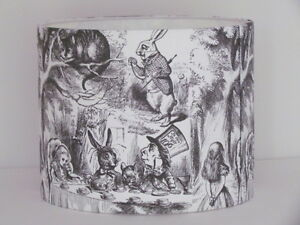 Alice in Wonderland Mad Hatters Tea Party Lampshade Light Shade