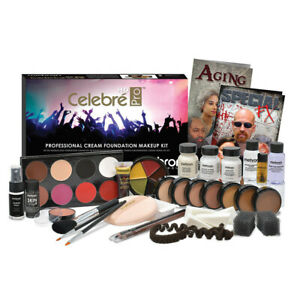 Mehron Celebre Professional Makeup Kit stage film video photo MUA media TV