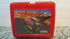 RARE VINTAGE 1991 DAYS OF THUNDER LUNCHBOX & THERMOS  & CARS SEALED NOS TAGS