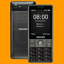 "Philips Xenium E570 2MP FM A2DP 2.8"" 170 Days Dual SIM Standby GSM 2G Cell Phone"