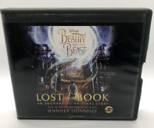 LOST IN A BOOK DISNEY BEAUTY AND THE BEAST AudioBook Ex-Lib Jennifer Donnelly