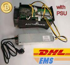BTC miner Antminer S5 1150G 28NM BM1384 Asic with PSU Bitcoin Mining Machine