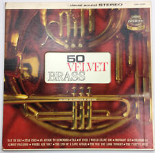 """50 Velvet Brass Arranged & Conducted by Pete King 12"""" LP Vinyl Record LSS-14029"""