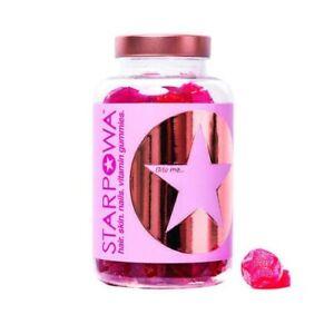 Starpowa Gummies Hair Nails & Skin Gummies 60 Gummies 30 Day Supply BBE 02/2022