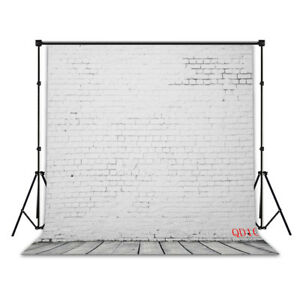 Vinyl 18 Type Brick Wall Floor 10X10FT Studio Backdrop CP Photography Background