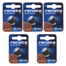 Renata CR1632 Swiss Made 3v Lithium Coin Cell Battery