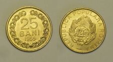 Roumanie Romania SET 25 Bani 1955 + 50 Bani 1956 NEUF / UNC