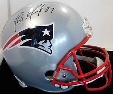 Rob Gronkowski New England Patriots Signed full Size Rep Helmet JSA Authentic