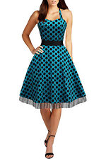 Unbranded Party Midi Spotted Dresses for Women