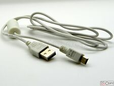 USB Data Cable Cord Lead Fo Canon PowerShot A2600 A570IS A590IS A650IS A710IS