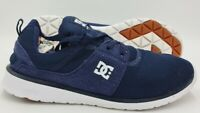 DC Shoes Heathrow Suede/Nylon Trainers ADYS700071 Navy Blue UK9/US10/EU43