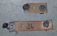 87-93 Ford Mustang Heater HVAC Box Mounting Brackets Plates with Hardware