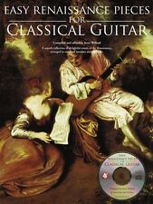 Easy Renaissance Pieces for Classical Guitar Sheet Music With a Cd 014037750