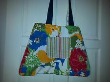Market Tote, Women's Bag, Recycled Fabric Bags