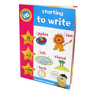 Pre School Reading Writing Spelling Learning Kids Activity Educational Work Book