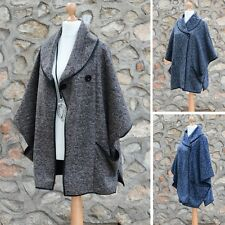 Plus Size Ladies Coat Lagenlook Style Jacket Coatigan 26 24 22 20 18 16 XL 16191
