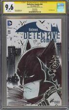 Detective Comics #44 CGC 9.6 Original Batman Sketch by Danny Miki