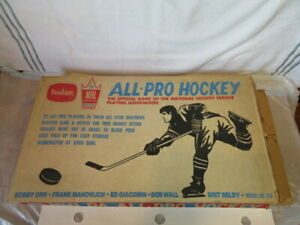 Vintage 1969 Tudor NHLPA All-Pro Hockey Game with box