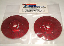 TRAXXAS X-MAXX 7076 GPM RED ALUMINUM FRONT WHEEL HEX WITH BRAKE DISK TXM006F