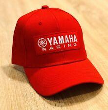 YAMAHA FACTORY RACING HAT CAP BMX BIKE ADJUSTABLE RED DMX YZF YFZ RI R6 BOAT