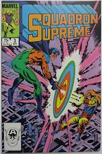 Squadron Supreme #3 (Nov 1985, Marvel) Doctor Spectrum - Power Princess (C2561)