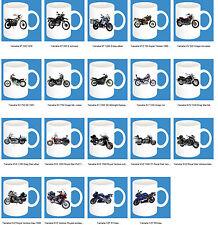 300ml Keramik Becher mit Motiv: Yamaha Teil 3 Motorrad Modelle Kaffee Tasse Bike