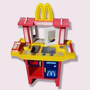 Fisher price McDonalds drive-thru through Play Set Kitchen Vintage Incomplete