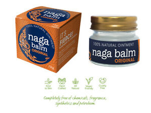 Naga Balm Original - 100% Natural Muscle Ache Pain Relief Ointment - 15g