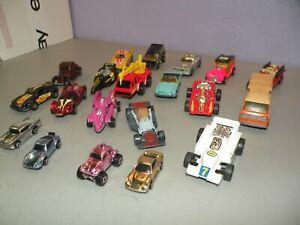 LOT OF 20 VINTAGE 1970'S & 1980'S HOT WHEELS CARS MATTEL HOT WHEELS CARS