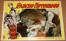 fotobusta film RANCHO NOTORIUS Marlene Dietrich M.Ferrer A.Kennedy Fritz Lang