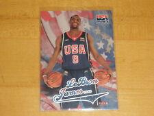 2004 Fleer Skybox Team USA USAB LeBron James
