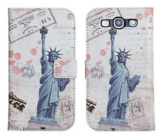 Scenery Design (2) For Samsung Galaxy S3 Leather Wallet Card Case Cover Stand