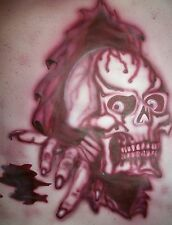 A4 High Airbrush Stencil Skull Zombies Template Steps Paint Craft  240mic
