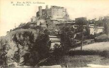 cpa LE PUY 26 le château de bouzols