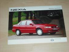 34862) Daewoo Nexia Polen Prospekt 199?