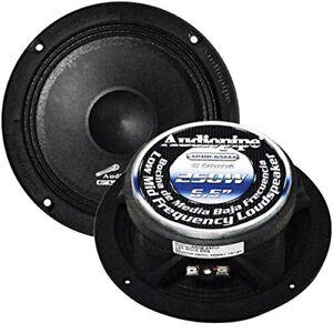 "Audiopipe 6.5"" Flat Shallow Mount Loudspeaker 250 Watts Peak APMB-65FLT SINGLE"