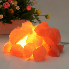 Natural Himalayan Air Purifier Rock Salt Egg Ball Block for Salt Light Lamp New