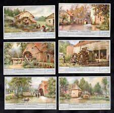 Water Mills Card Set 1947 Liebig Wheel Power Watermill Watermolen Boat Moulin